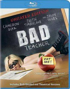 Bad Teacher (Blu-ray Disc, 2011, Unrated)