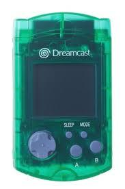 Sega Dreamcast Green VMU Visual Memory Card [Used]