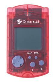 Sega Dreamcast Red VMU Visual Memory Card [Used]