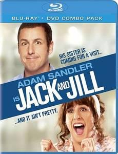 Jack and Jill (Blu-ray/DVD, 2012, 2-Disc Set)