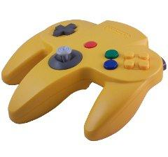 Nintendo 64 Yellow Controller [USED]