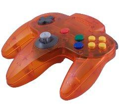 Nintendo 64 Atomic Orange Controller [USED]