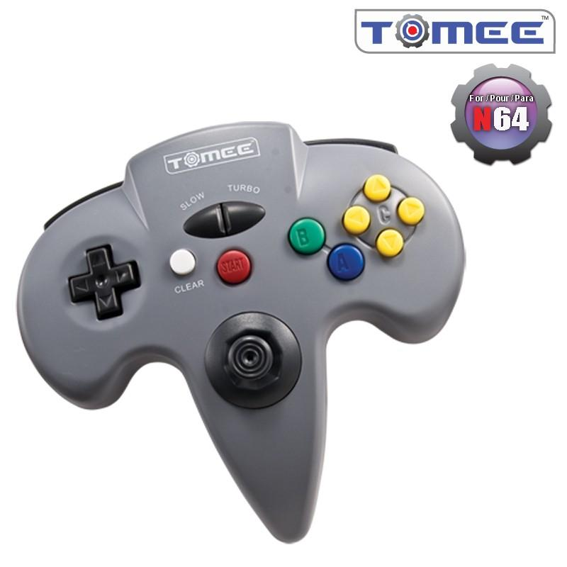 N64 Tomee Controller (Gray) [NEW]