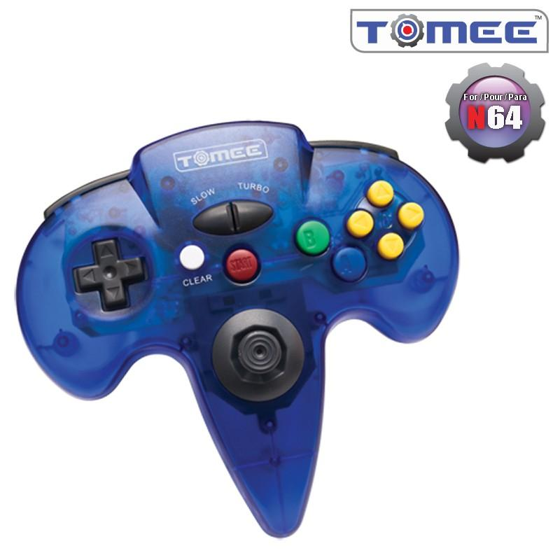 N64 Tomee Controller (Blue) [NEW]