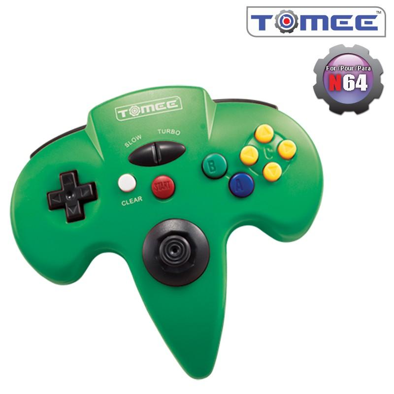 N64 Tomee Controller (Black) [NEW]