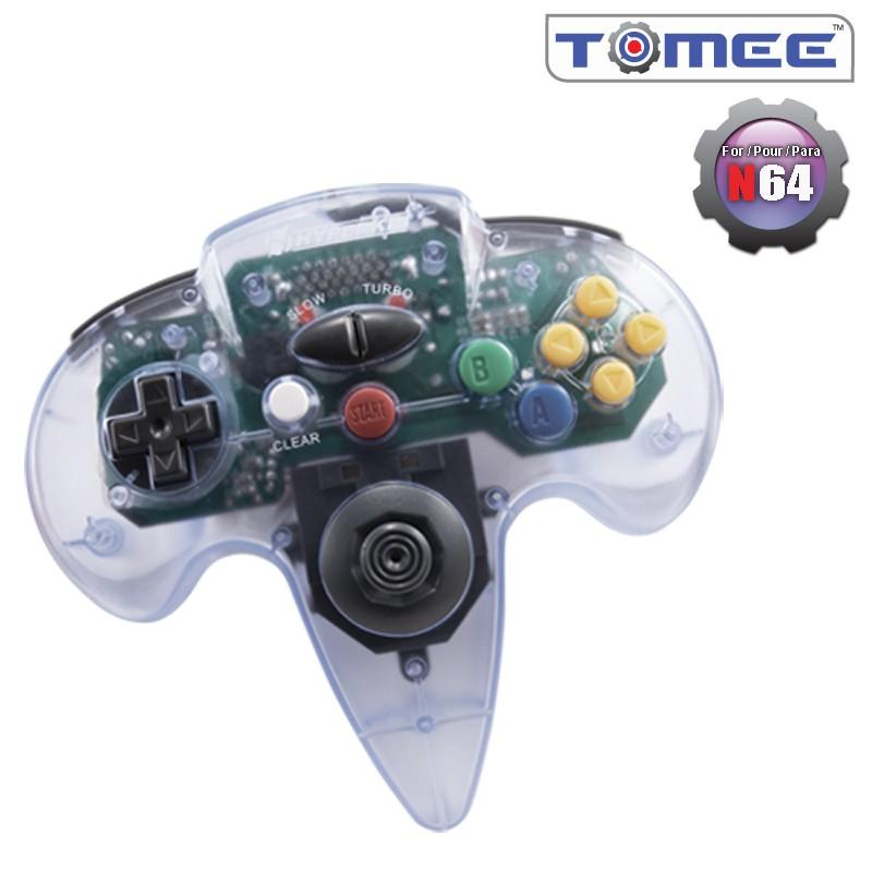 N64 Tomee Controller (Clear) [NEW]