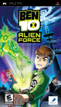 Ben 10: Alien Force The Game (Playstation Portable) [USED DO]
