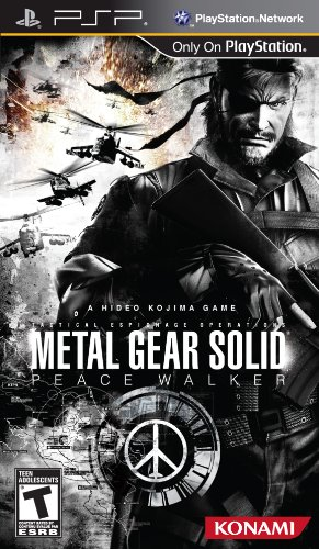 Metal Gear Solid: Peace Walker (Playstation Portable) [USED DO]