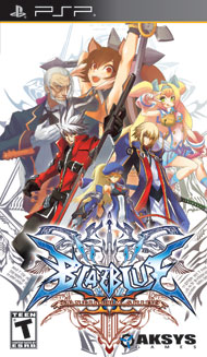 BlazBlue: Continuum Shift II (Playstation Portable) [USED]